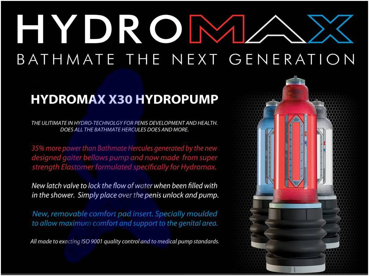 HYDROMAX X30