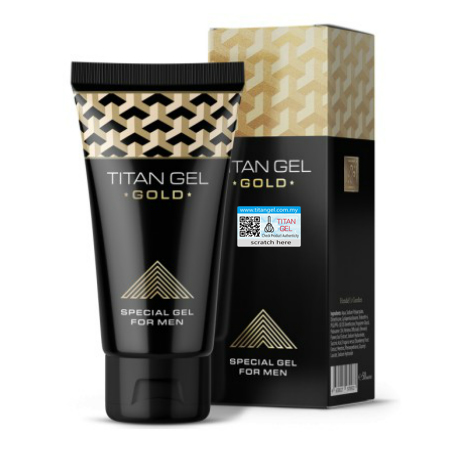 TITAN GEL GOLD RUSIA ORIGINAL